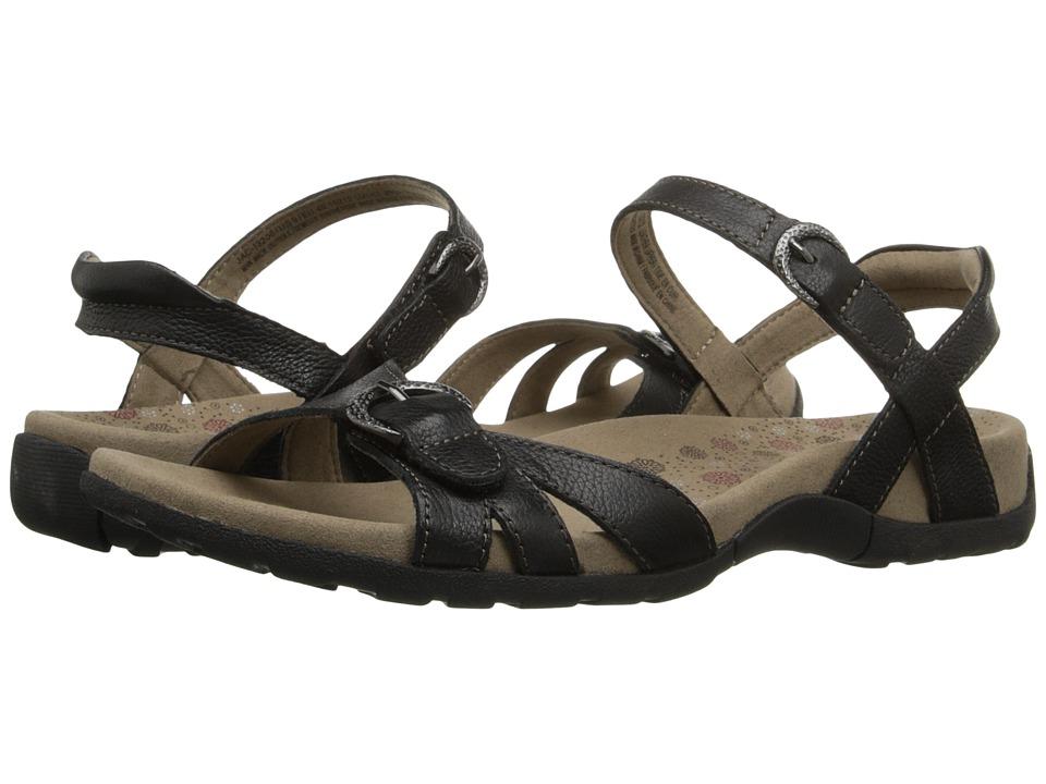 taos Footwear Jackpot Black Womens Sandals
