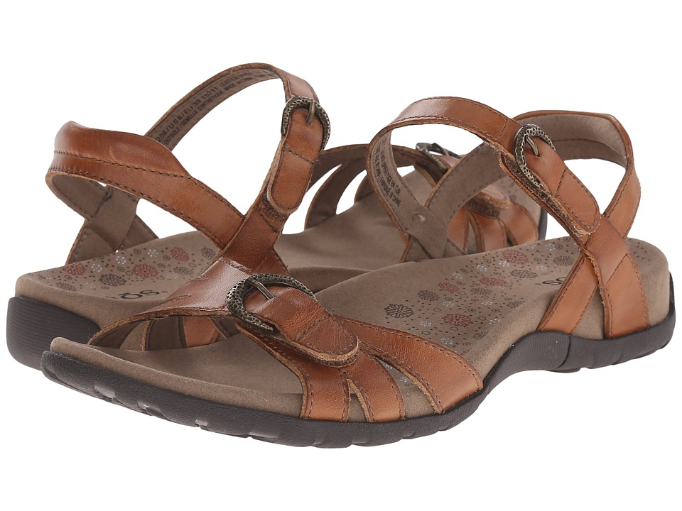 taos Footwear Jackpot Tan Womens Sandals