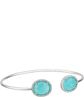 Dee Berkley - Sterling Silver and CZ Bangle