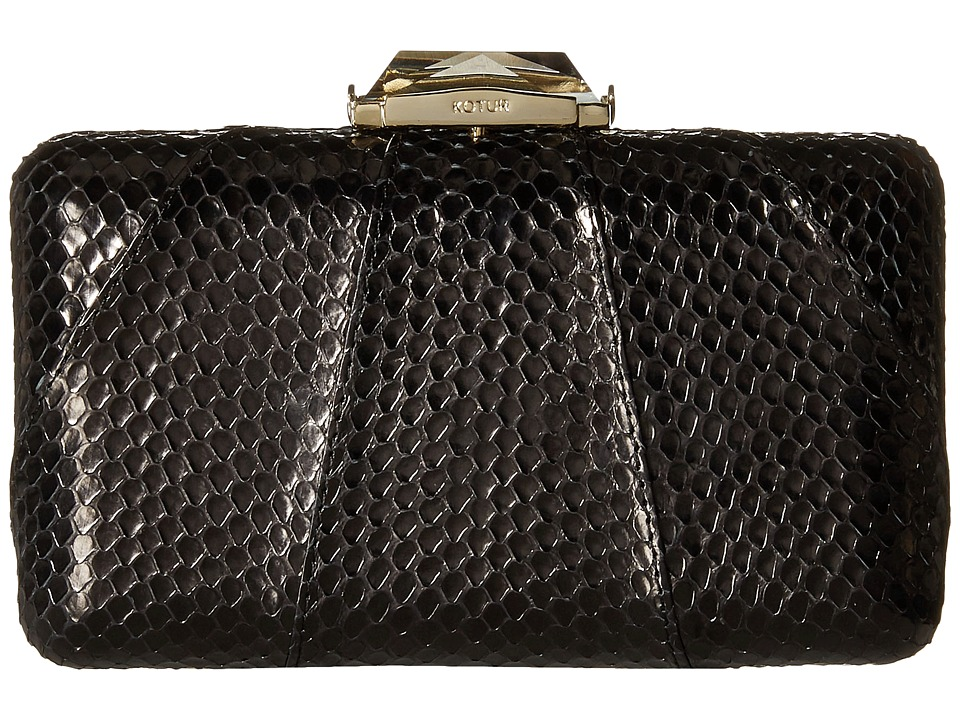 KOTUR Espey Black Clutch Handbags