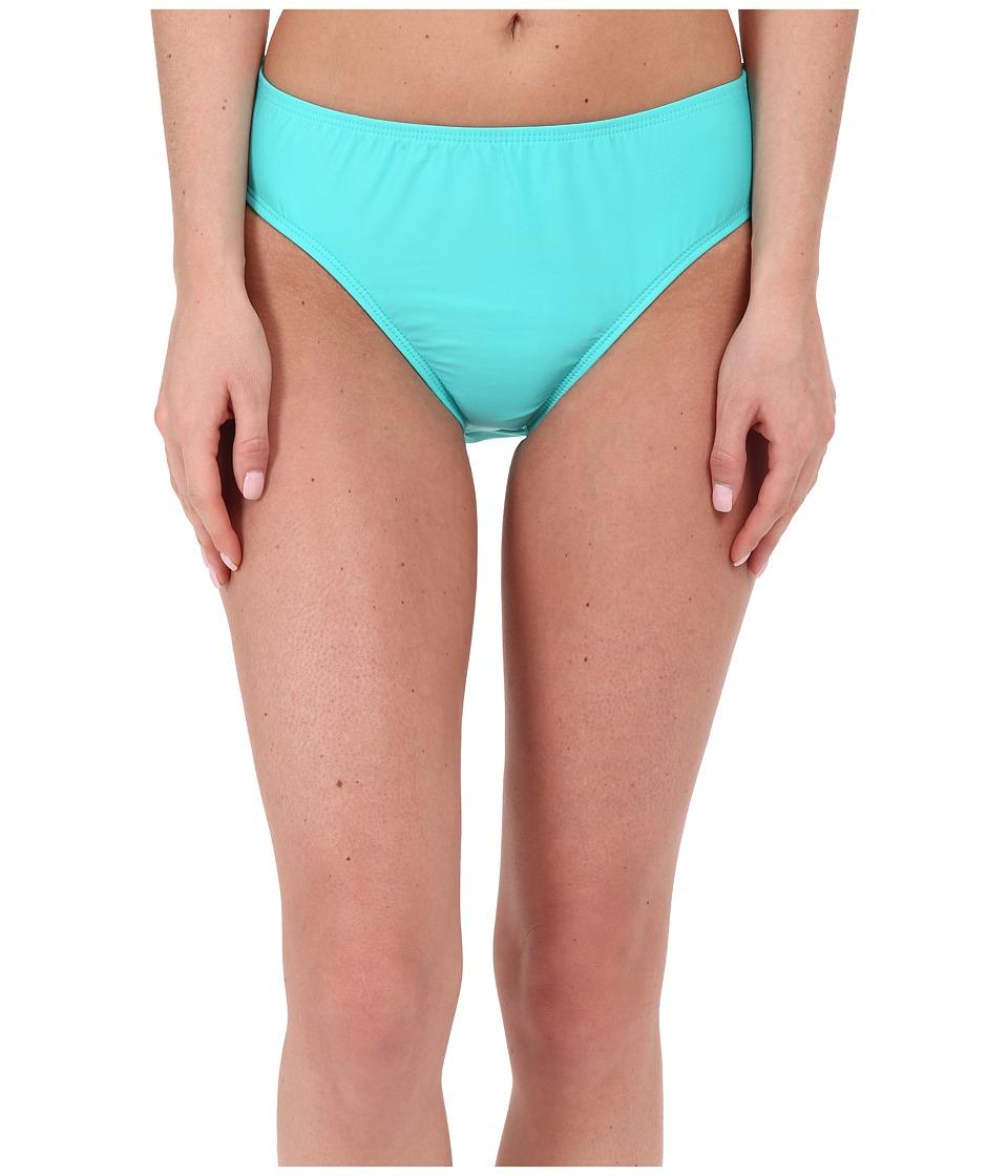 Nautica Signature High Waist Pants NA27356 Aqua Womens Swimwear