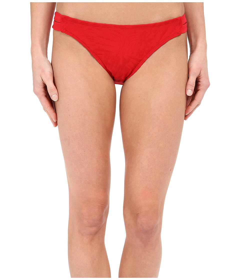 Nautica Point of Sail Strap Pants NA31366 Red Womens Swimwear