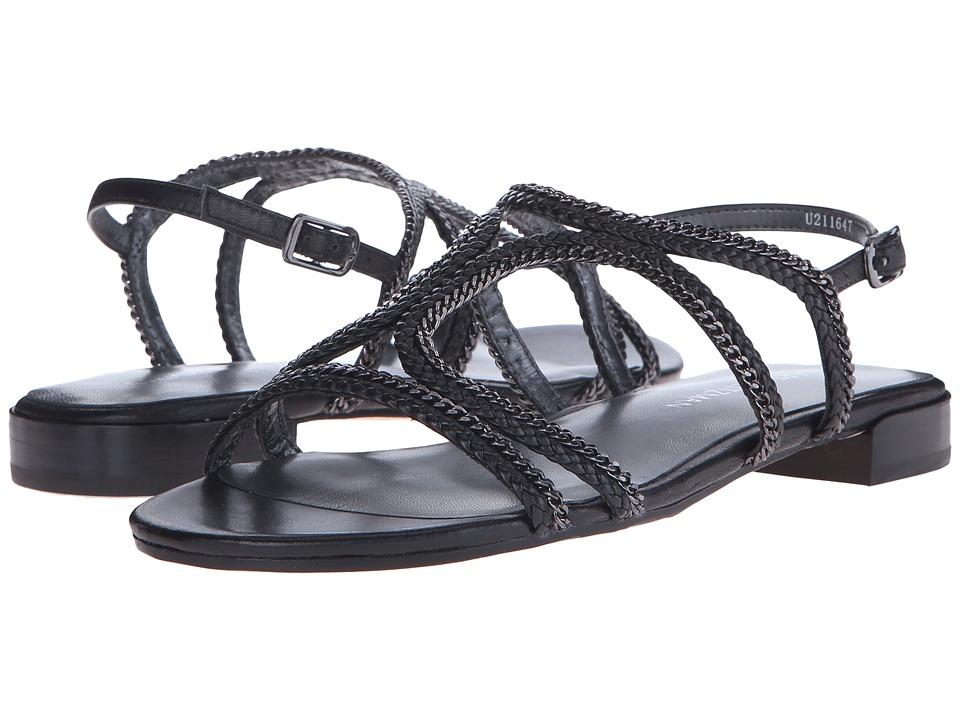 Stuart Weitzman Samoa Black Nappa Womens Shoes