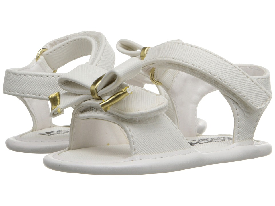MICHAEL Michael Kors Kids Baby Joy Kiera Infant/Toddler White Girls Shoes