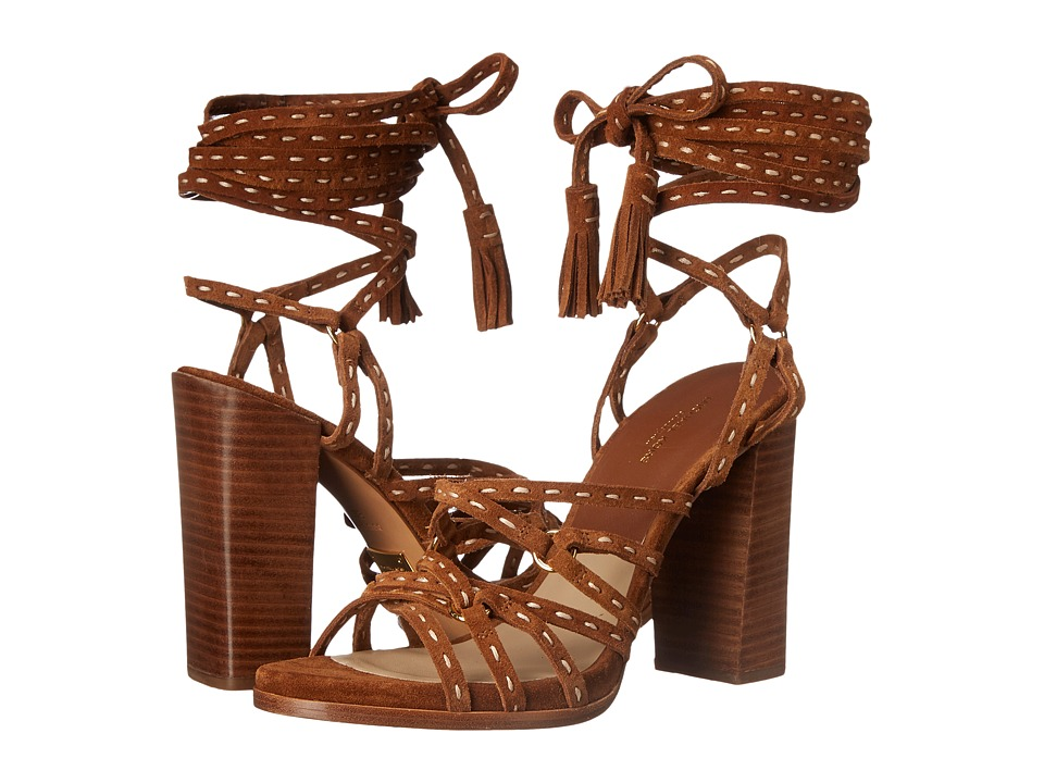 Michael Kors - Rowan (Luggage Sport Suede) High Heels