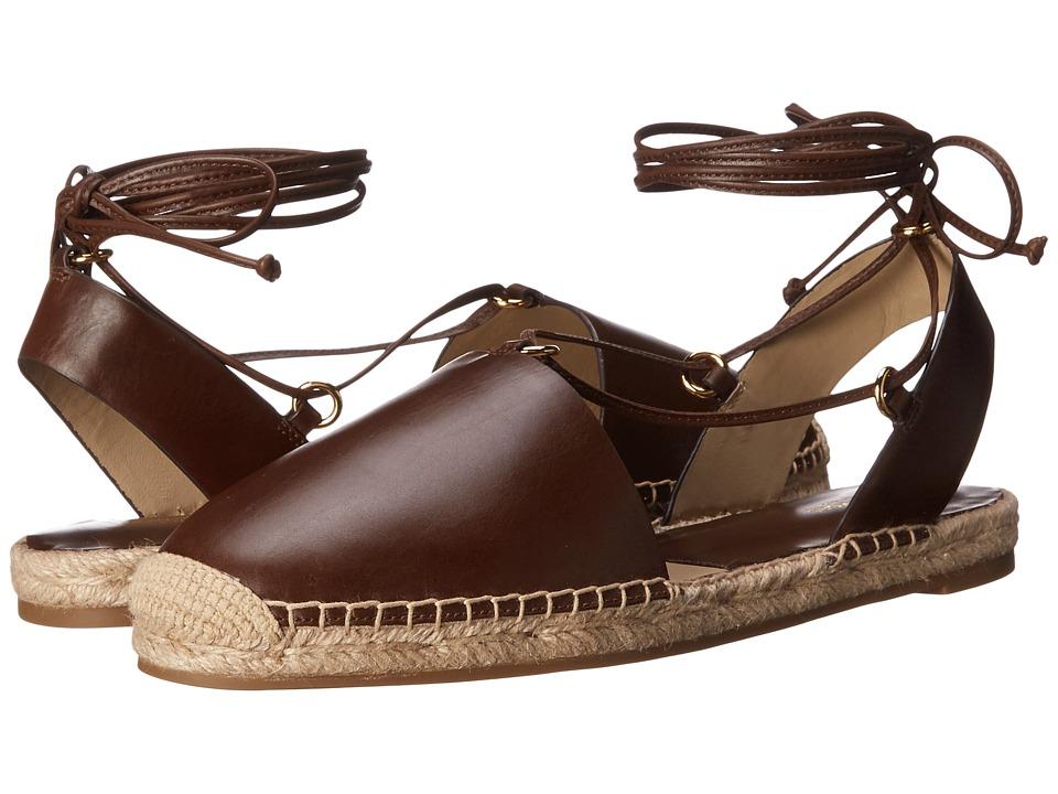 Michael Kors - Tiffany (Nutmeg Smooth Calf/Jute) High Heels