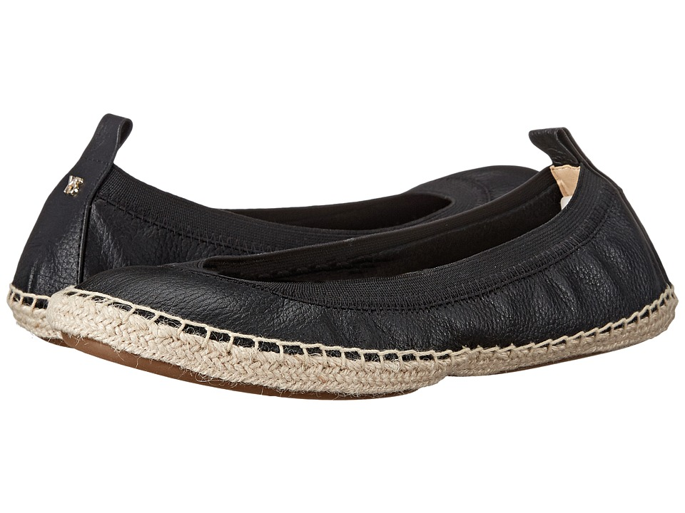 Yosi Samra Lara Black Womens Flat Shoes