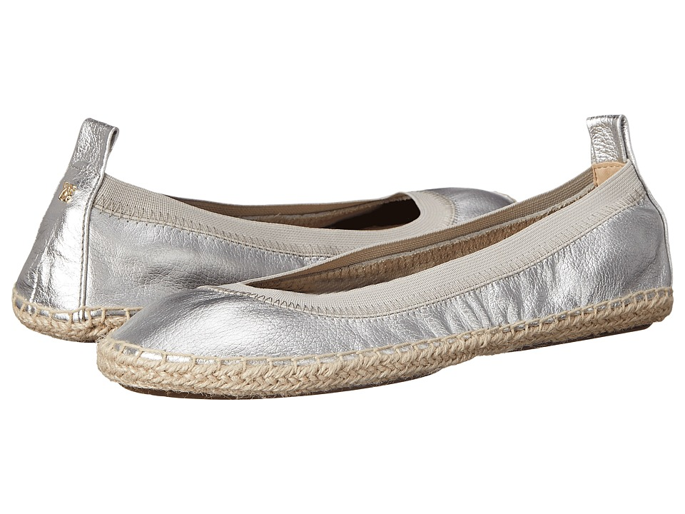 Yosi Samra Lara Silver Womens Flat Shoes