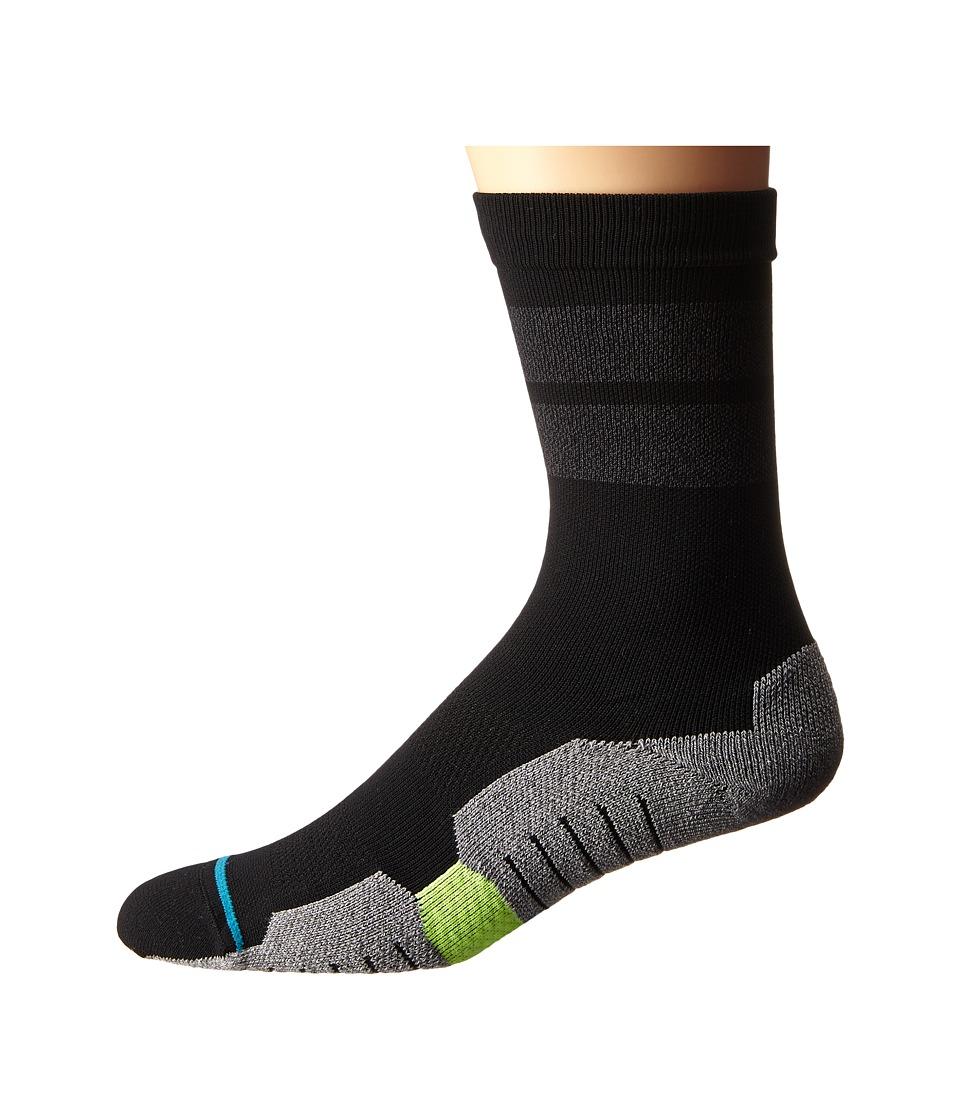 Stance 8 Iron Black Mens Crew Cut Socks Shoes