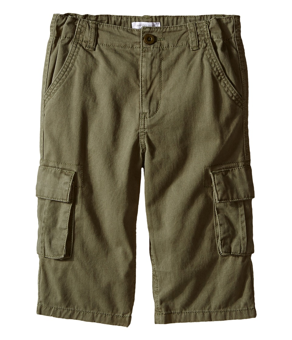 Pumpkin Patch Kids Core Essentials Mason Cargo Shorts Infant/Toddler/Little Kids/Big Kids Green Moss Boys Shorts