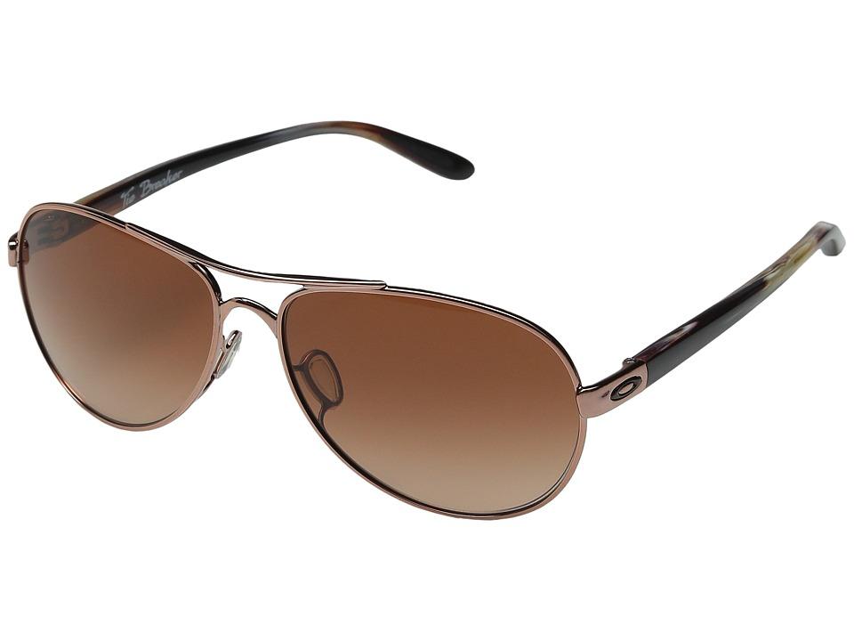 Oakley Tie Breaker (Rose Gold/VR50 Brown Gradient) Snow Goggles