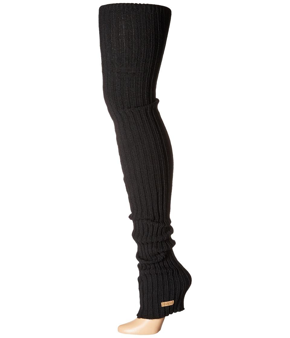ToeSox Leg Warmer Thigh-High (Black) Women's Knee High So...