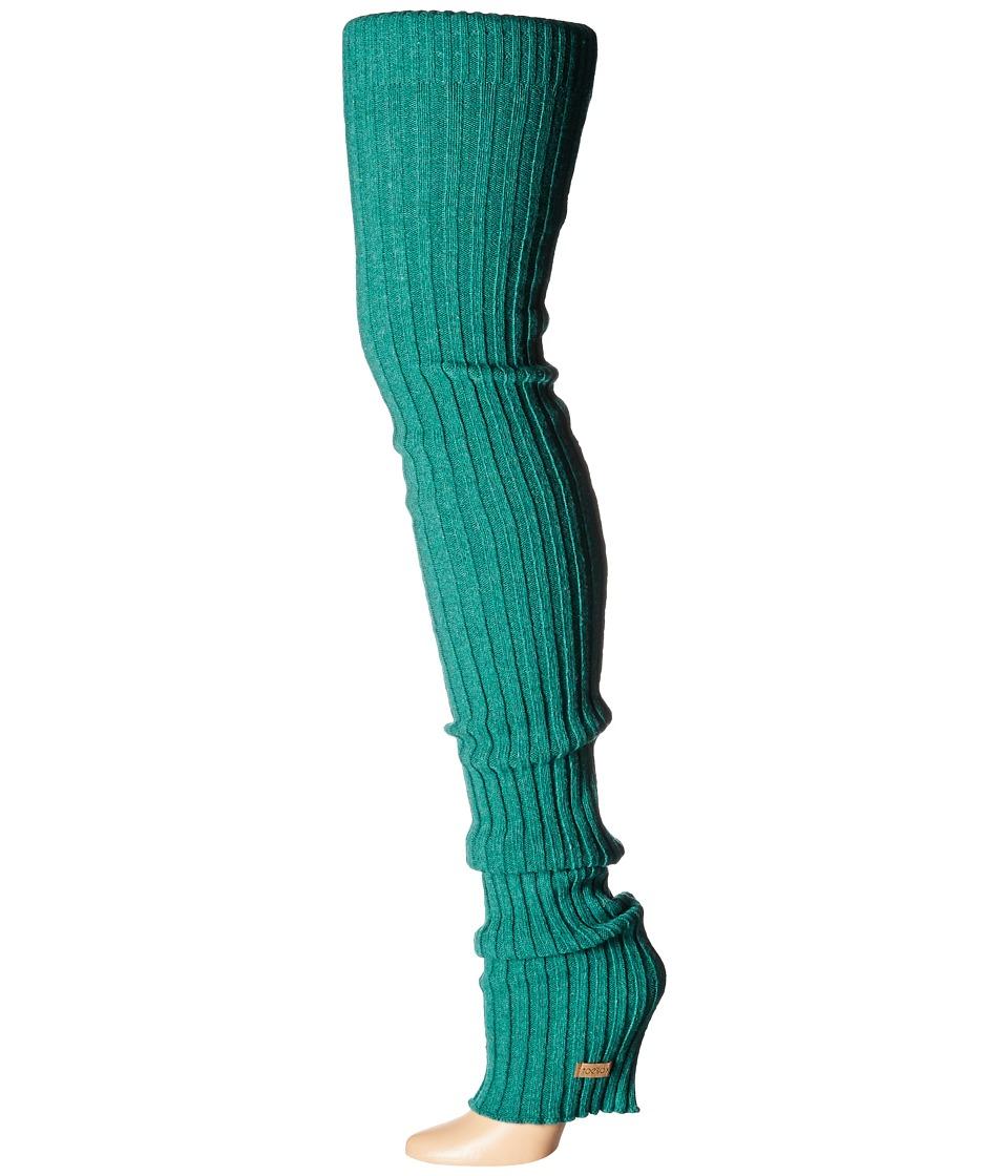 ToeSox Leg Warmer Thigh-High (Forest) Women's Knee High S...