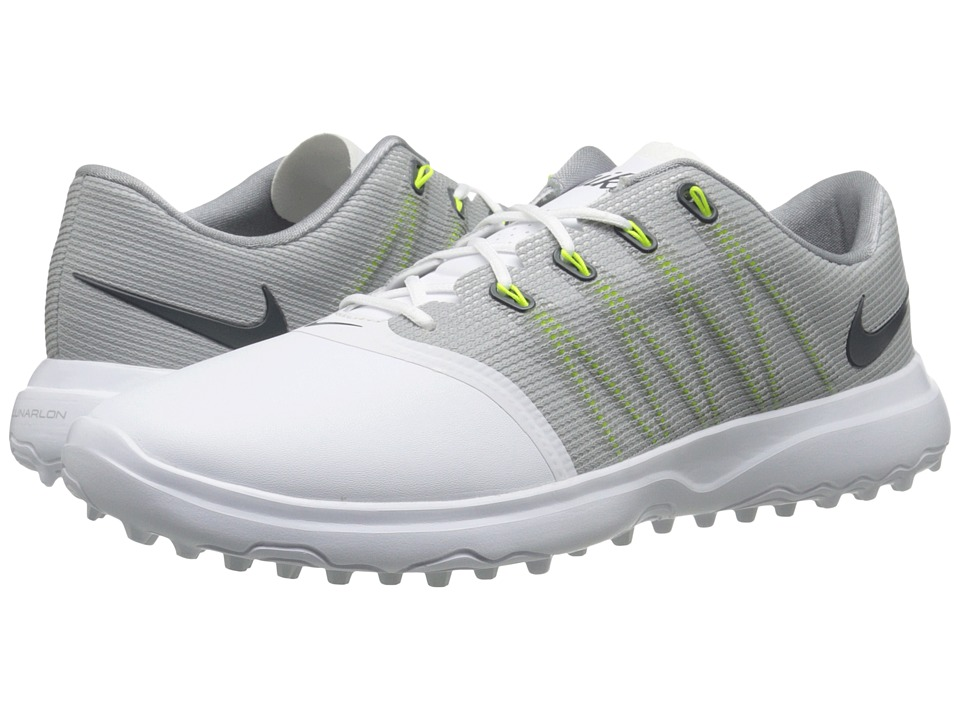 Nike Golf Lunar Empress 2 (White/Anthracite/Cool Grey) Women's Golf Shoes