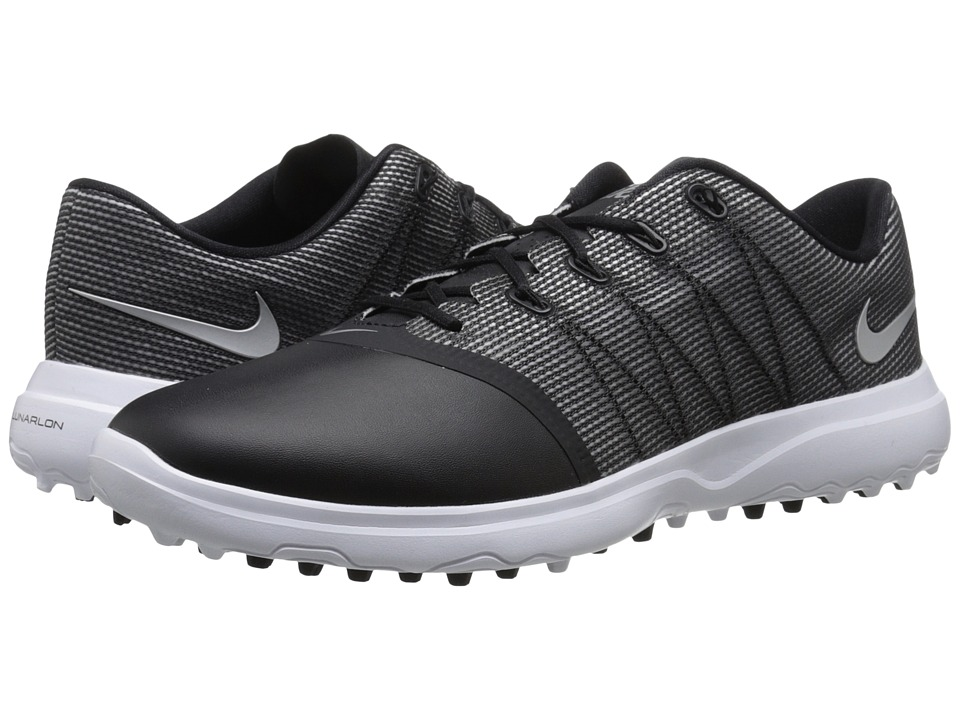 Nike Golf Lunar Empress 2 (Black/Metallic Silver/White) Women's Golf Shoes