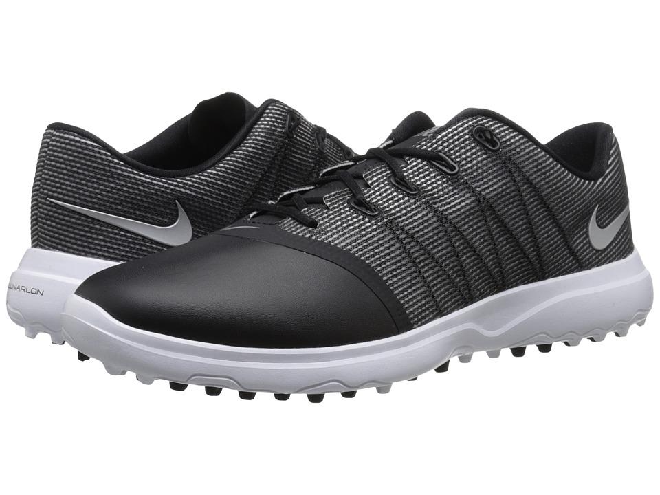 Nike Golf - Lunar Empress 2 (Black/Metallic Silver/White) Womens Golf Shoes