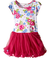 Pumpkin Patch Kids - Patch Friends Floral Tulle Dress (Toddler/Little Kids/Big Kids)