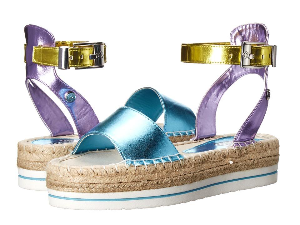 LOVE Moschino Shiny Espadrille Sandal Multi Womens Sandals