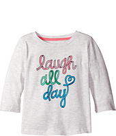Tommy Hilfiger Kids - Laugh All Day 3/4 Sleeve Top (Little Kid)