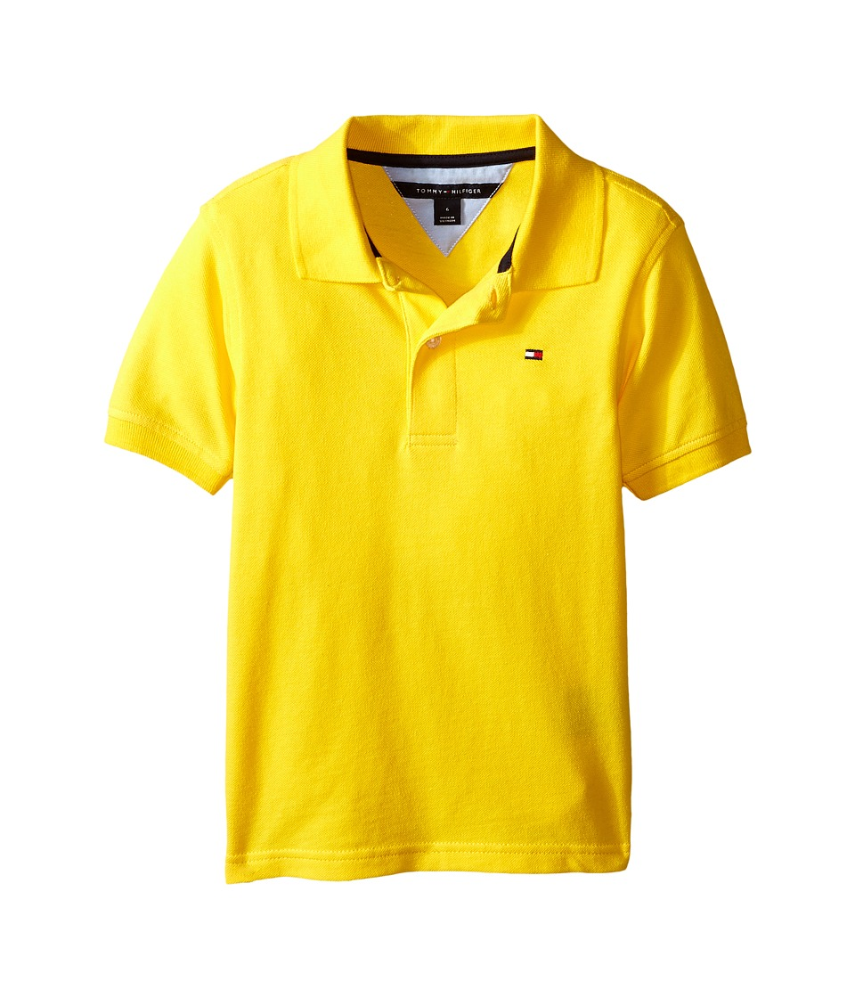 Tommy Hilfiger Kids Ivy Polo Toddler/Little Kid Rubber Ducky Boys Short Sleeve Knit