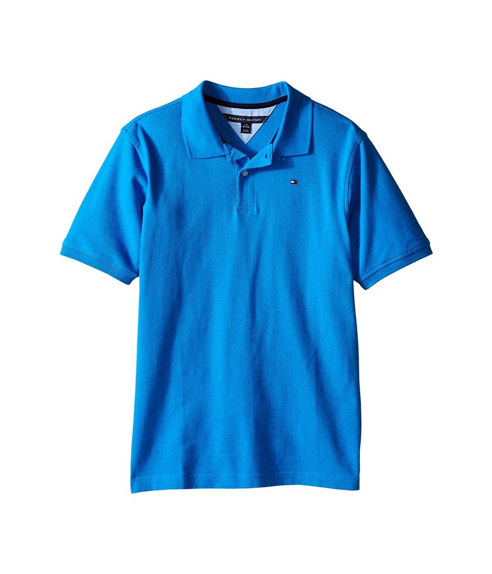 Tommy Hilfiger Kids Ivy Polo Big Kid Splash Boys Clothing