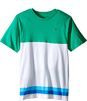 Tommy Hilfiger Kids - Kristov Stripe Tee (Big Kid)
