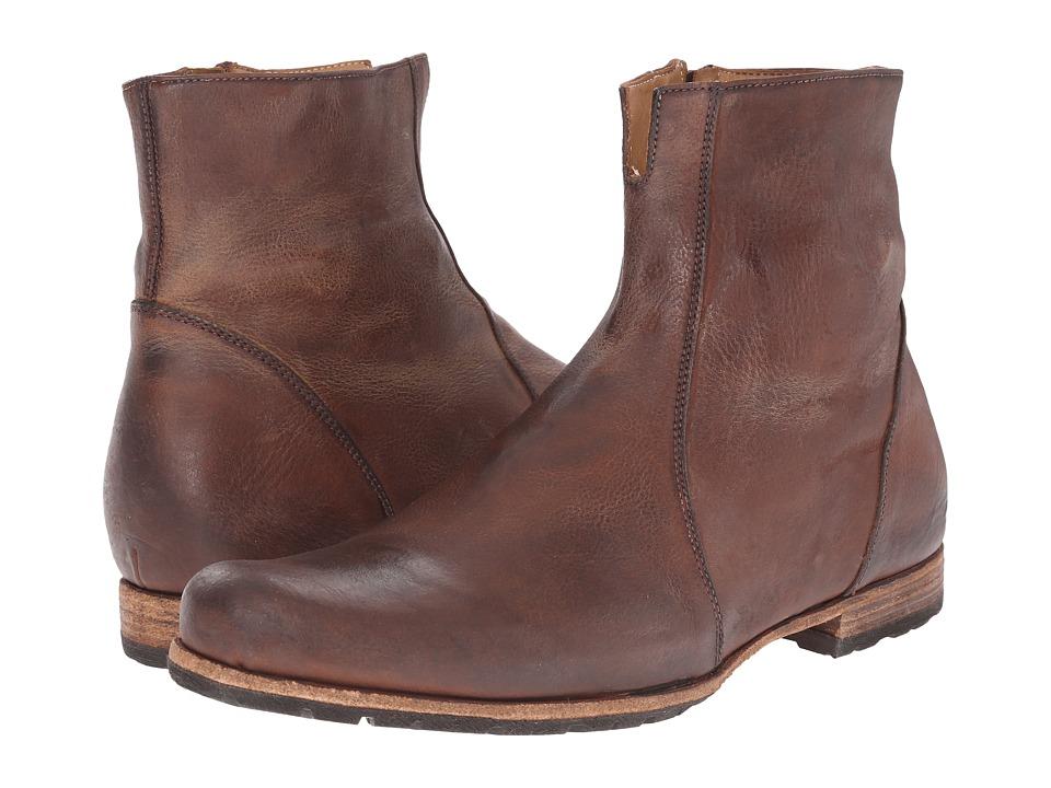 Billy Reid Paglia Moto Boot (Chestnut) Men