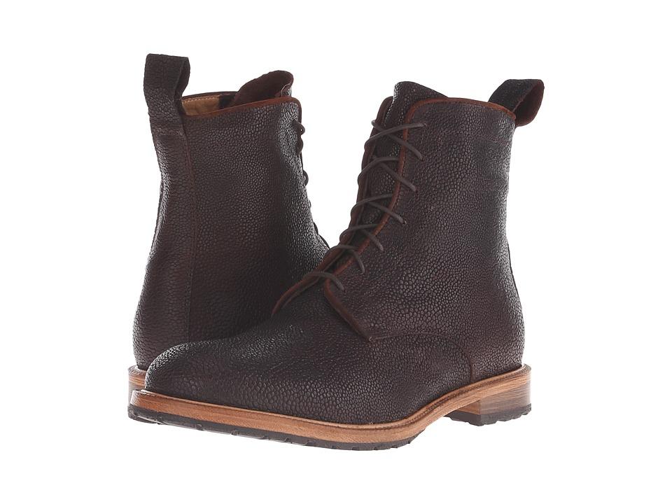 Billy Reid Anderson Boot (Dark Brown) Men