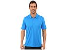 adidas Golf CLIMACHILL Solid Club Polo (Shock Blue)