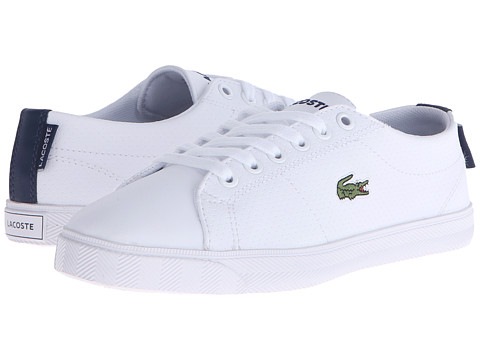 Lacoste Kids Marcel Lace-Up 116 3 SP16 (Little Kid/Big Kid) - White/Navy