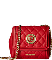 LOVE Moschino - Small Two-Tone Classic Quilted Crossbody Bag