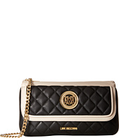 LOVE Moschino - Long Classic Quilted Crossbody Bag