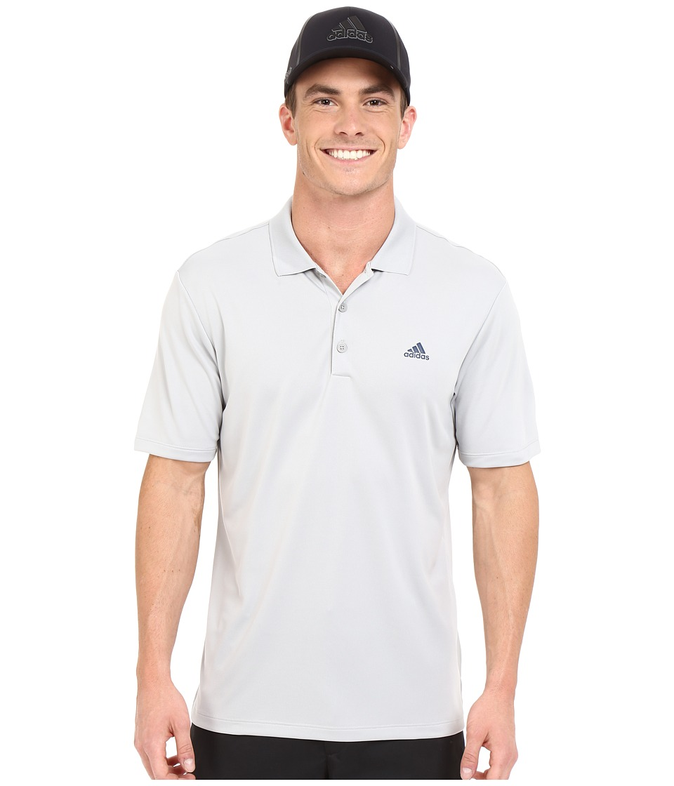 adidas Golf Branded Performance Polo Stone Mens Short Sleeve Pullover