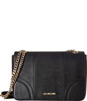 LOVE Moschino - Saffiano Chain Strap Medium Bag