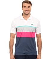 adidas Golf - CLIMACOOL® Engineered Stripe Polo