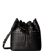 LOVE Moschino - Perforated Shoulder Strap Duffel Bag