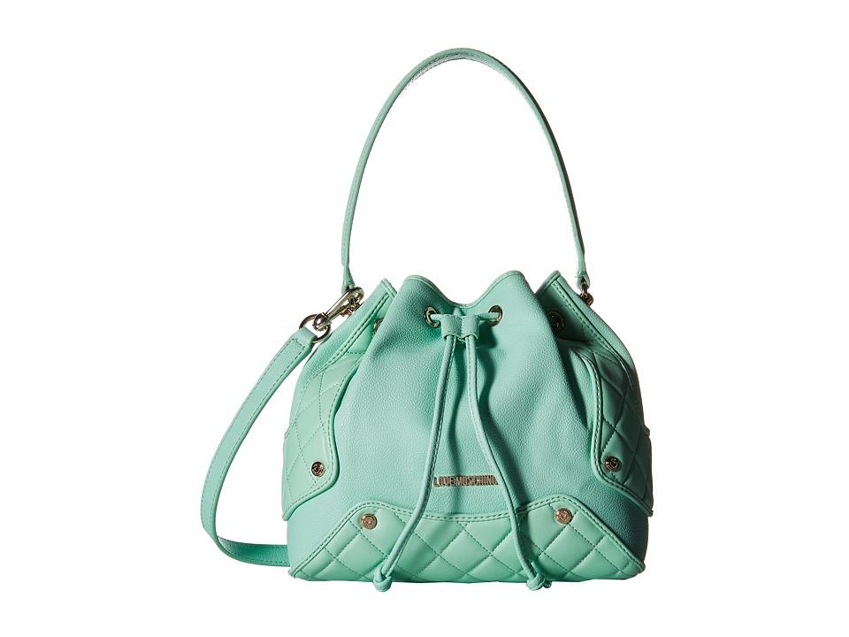 LOVE Moschino - Small Duffel Bag (Mint) Duffel Bags