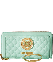 LOVE Moschino - Quilted Wrist Wallet