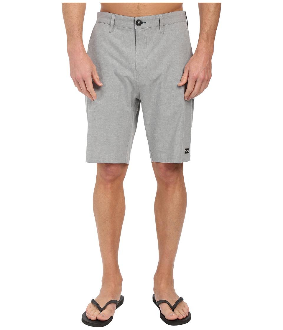 Billabong - Crossfire X Hybrid Shorts (Grey) Mens Shorts
