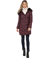 T Tahari - Austin Faux Fur Trim Down