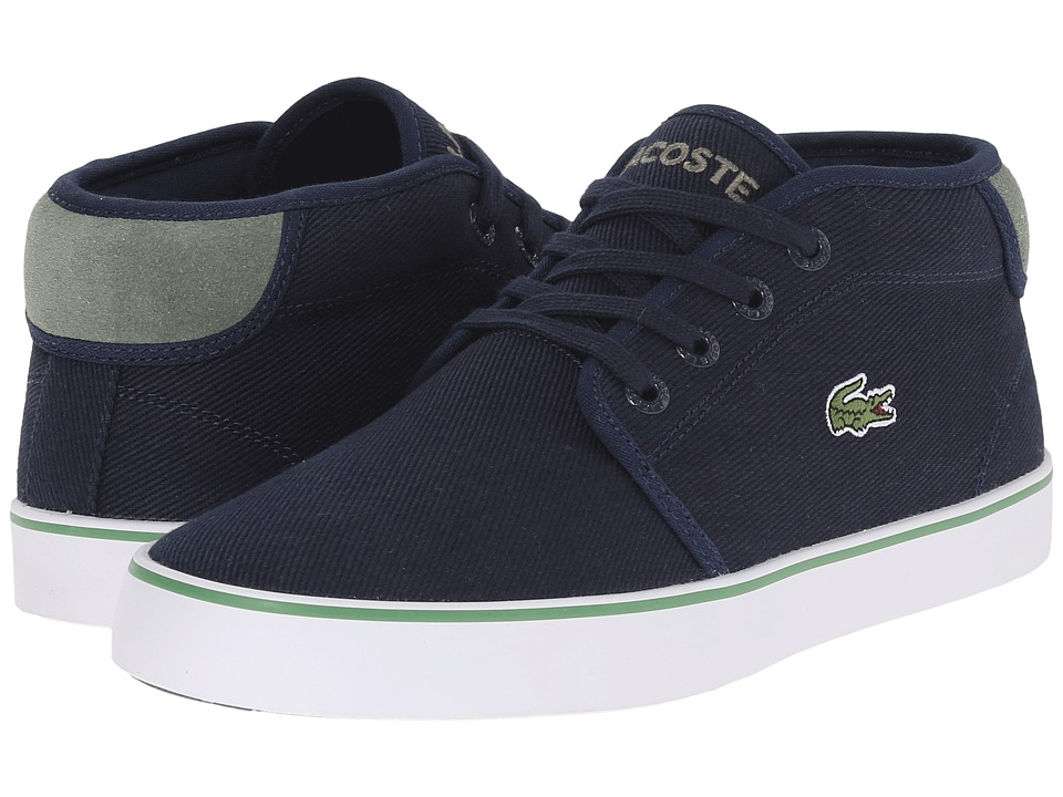 Lacoste Kids Ampthill 116 2 SP16 Little Kid/Big Kid Navy Kids Shoes