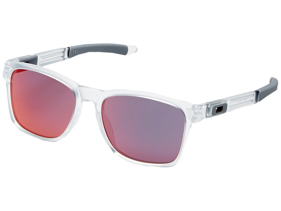 Oakley Catalyst Matte Clear/Torch Iridium Snow Goggles