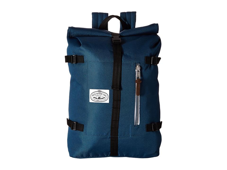 Poler Retro Rolltop Bag Blue Steel Bags