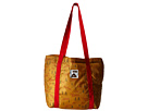 Poler Stuffable Totes Bag (Almond Forestry Print)