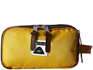 Poler Dope Dopp Travel Kit Toiletry Bag (Golden Rod/Blue Steel)