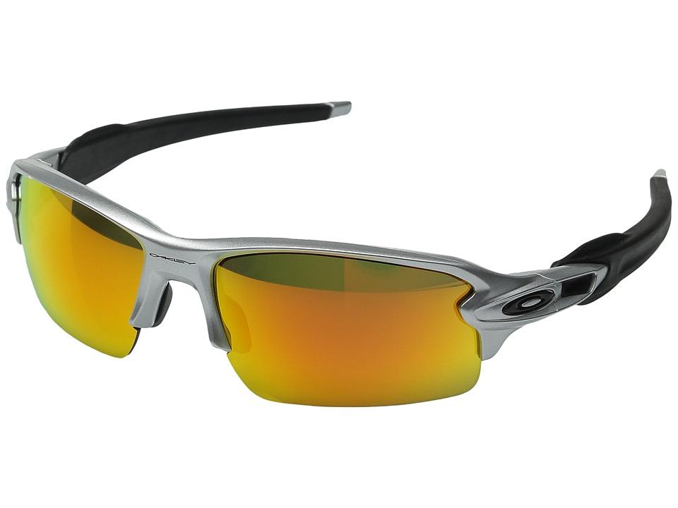 Oakley Flak 2.0 (Silver/Fire Iridium) Snow Goggles
