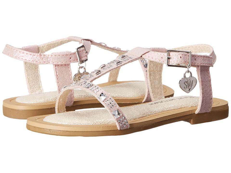 Stuart Weitzman Kids Camia Doraly Toddler/Little Kid/Big Kid Pink Girls Shoes
