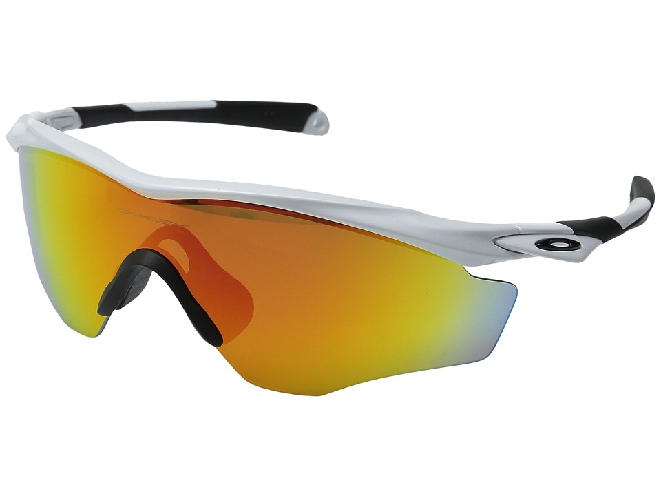 Oakley M2 Frame XL (Polished White/Fire Iridium) Snow Goggles
