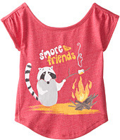 Roxy Kids - S'more Friends Tee (Toddler/Little Kids)