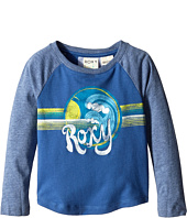 Roxy Kids - Retro Surf Long Sleeve Raglan (Toddler/Little Kids)